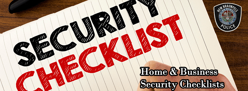 Security Checklists banner 1