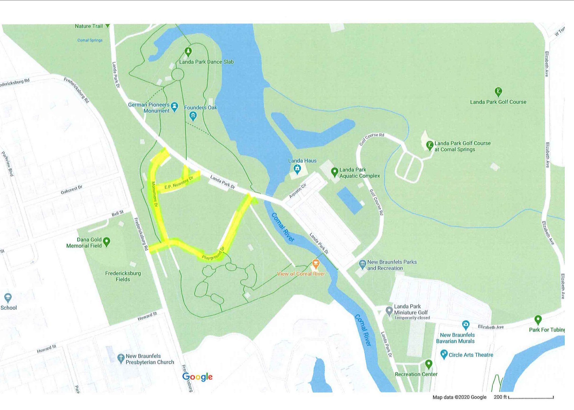 04-21-20 Landa Park Mill and Overlay Map