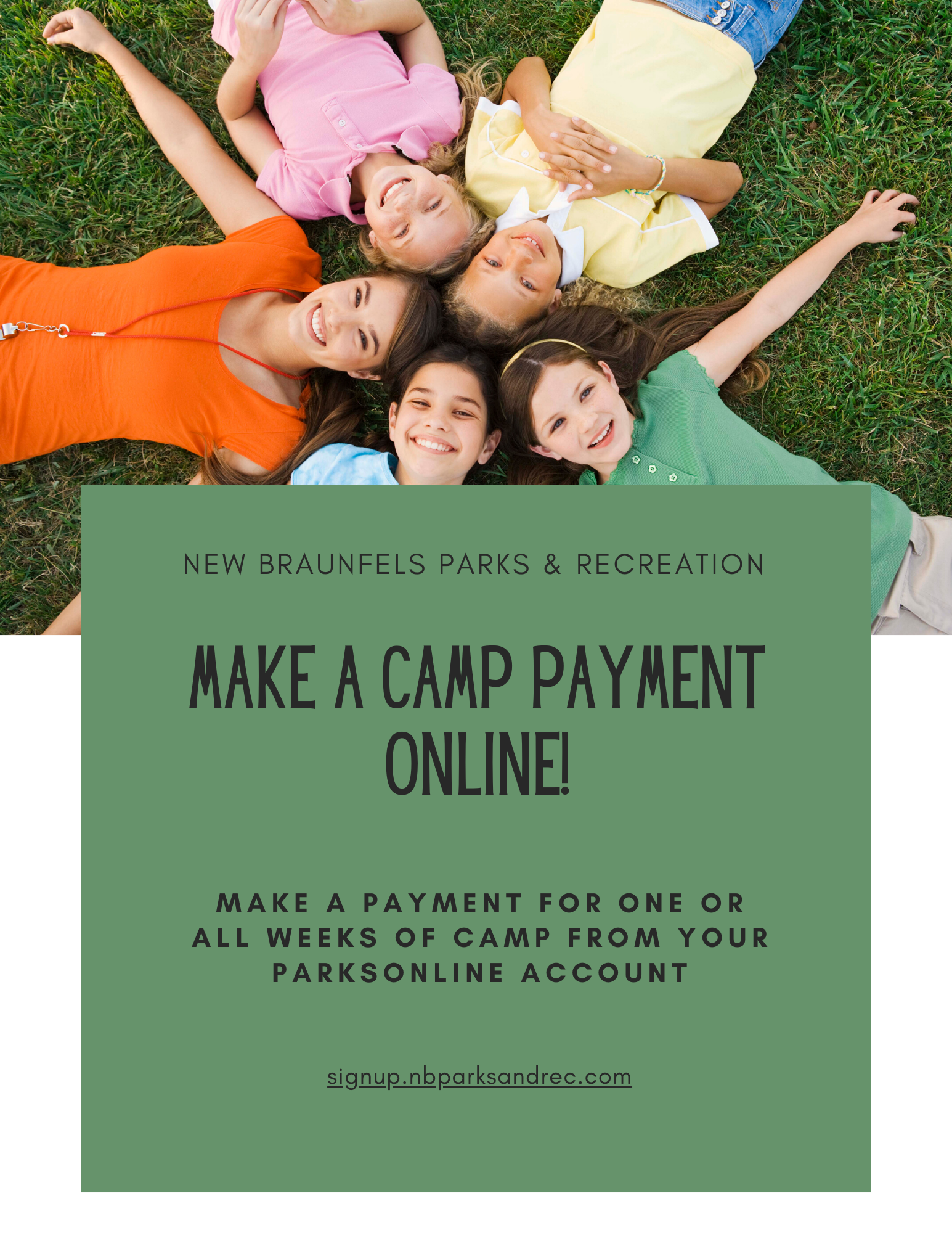 Camp Payment Online