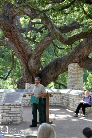 Paul Johnson with Texas Forest Service