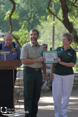 Certification from Texas Forest Service